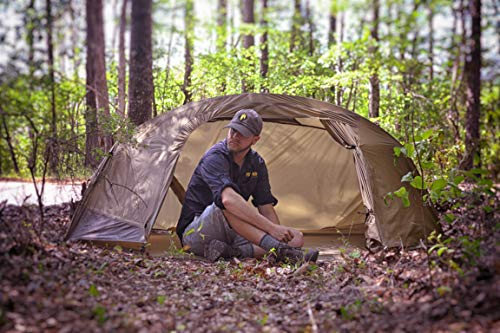 CATOMA IBNS 64581F-KIT Ripstop Nylon 1 Person Tactical Shelter Tent Fly.