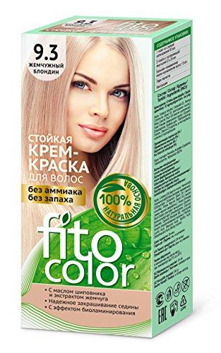 FITOCOLOR Haarfarbe perlblond, 50 ml Стойкая крем-краска для волос (жемчужный блондин) FITOCOLOR