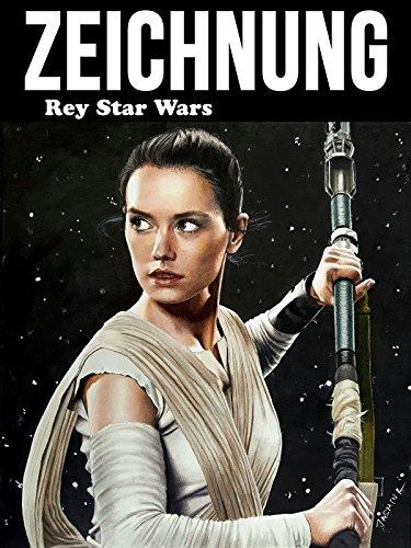 Clip: Zeichnung Rey Star Wars