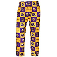 Forever Collectibles NFL Mens Repeat Print Lounge Pants,Minnesota Vikings