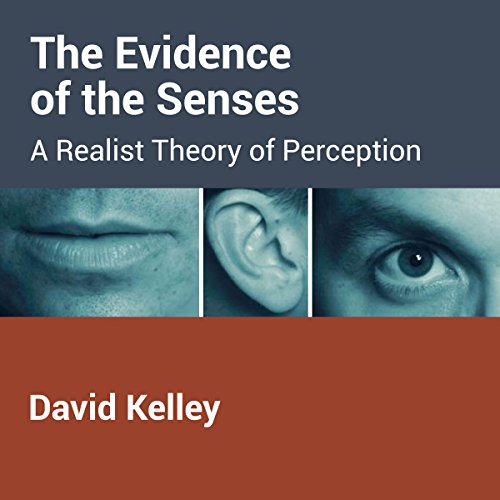 The Evidence of the Senses audiobook cover art