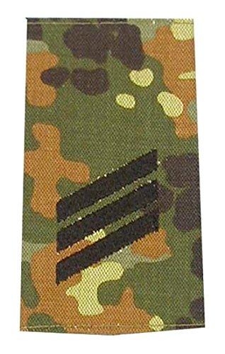 A.Blöchl Bundeswehr Heer Rangabzeichen Flecktarn - Schwarz (Hauptgefreiter)