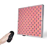 SGROW Red Light Therapy 45W Red Light Deep Red 660nm & 850nm Near Infrared Therapy Panel for Women and Men Skin Pain Relief