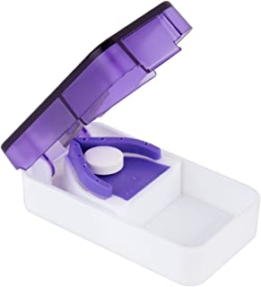 Sponsored Ad - Ezy Dose Pill Cutter and Splitter   Cuts Pills, Vitamins, Tablets   Stainless Steel Blade   Travel Sized   ...