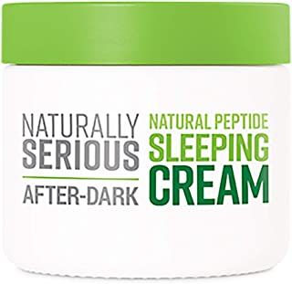 Naturally Serious - After-Dark Natural Peptide Sleeping Cream (1.7 fl oz   50 ml)