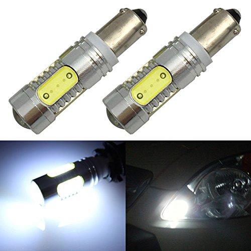 TABEN BA9S 3893 57 Ampoule LED 12V 24V Blanc 6000K BA9 1895 1893 47830 64111 T4W Ampoule LED pour Voiture intérieur dôme Carte Plaque d'immatriculation lumière (2 pièces)