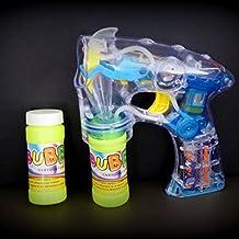 Decotrend-Line Pistola Lanzador de Burbujas con Luces y Sonidos, Multicolor, 315001
