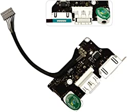 HKCB Replacement DC I/O Power Audio Board Charging Port Connector Flex Cable for MacBook Air 13 inch A1466 923-0439 820-3455-A (Mid 2013, Early 2014, Early 2015)