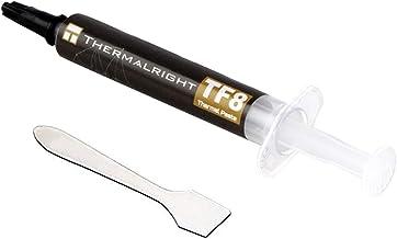 Pasta térmica Thermalright TF8 13.8 W/mK, alto rendimiento a base de carbono, pasta de disipador térmico, CPU para todos los enfriadores, 2 g