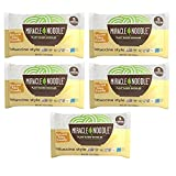 Miracle Noodle Fettuccine Pasta - Plant Based Shirataki Noodles, Keto, Vegan, Gluten-Free, Low Carb, Paleo, Kosher, 0 Calories - 7 Ounce (Pack of 5)