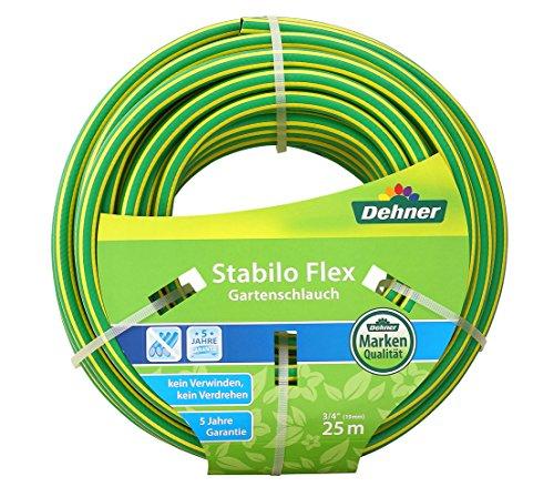 Dehner Stabilo Flex Gartenschlauch, 25 m, 3/4 Zoll