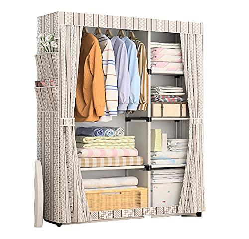 LJWLZFVT tela plegable para armario de camping que ahorra espacio, es para colocar libros, juguetes y toallas (tamaño: 105 x 45 x 170 cm, color: D)