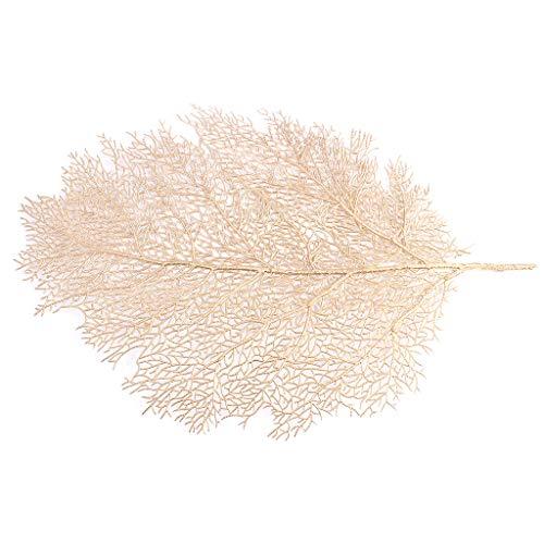 Lazder mantel individual mesa comedor posavasos hojas