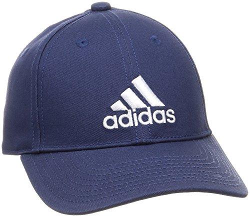 Boné Adidas 6 Painéis Cap Cotton - Azul Marinho