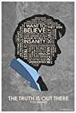 Northwest Art Mall X-Files Fox Mulder The Truth is Out