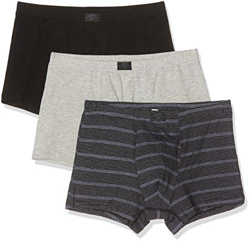 ESPRIT Herren Auburn Boxershorts, Mehrfarbig (Stripes Multicolor), L (3er Pack)