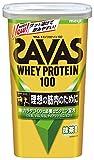 明治 ザバス(SAVAS) ホエイプロテイン100 抹茶風味【14食分】 294g