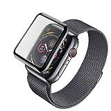 Weich Panzerglas Schutzfolie fr Apple Watch Series 4 40mm [Ultradnne, 9H-Hrte, High-Definition] fr...