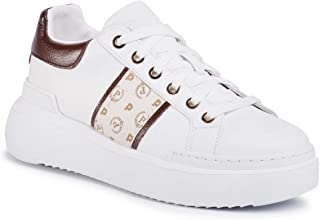 Pollini Sneakers Donna Pelle Sintetica Bianco TA15034G07Q1A10D. Sneakers Comoda e dalle Alte Performance. Collezione Prima...