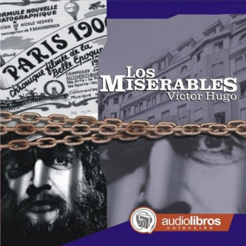 Los Miserables audiobook cover art