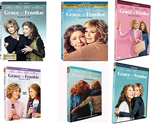 Grace and Frankie: The Complete Series, Seasons 1-6 (DVD, 18-Disc Box Set)