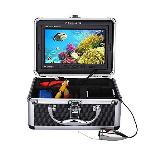 XINTONGSPP Buscador de Peces bajo el Agua, 15M HD 7 '' Color Digital LCD 1000TVL Grabadora de DVR Video a Prueba de Agua Video de Pesca bajo el Agua Cámara,30m