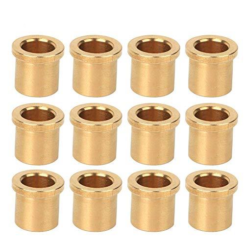 12 piezas de buje de bronce autolubricante Robots industriales Piezas 8/6 Estándar de EE. UU. Para FRC