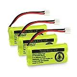 Kruta BT18433/BT28433 800mah 2.4V Ni-MH Cordless Phone Battery Compatible with AT&T and VTech BT18433 BT28433 BT184342 BT284342 BT183348 BT283348 T-T104 BT-1011 BT-1018 BT-1022 BT-1031