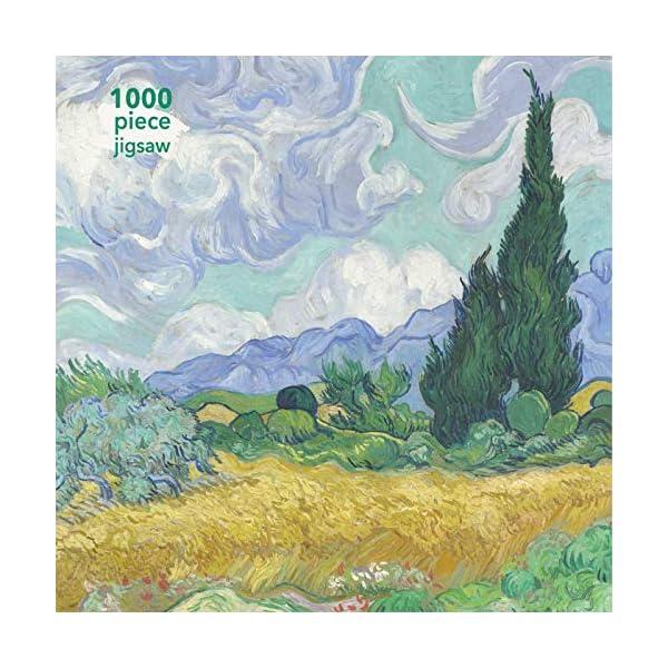 Adult Jigsaw Vincent van Gogh: Wheatfield with Cypress: 1000 piece jigsaw (1000-piece jigsaws)