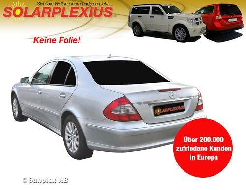 Sonnenschutz Autosonnenschutz Scheibentönung Sonnenschutzfolie Mercedes E- Klasse Limo W211 Bj. 02-09