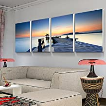 Paintsh Living Room Decorative Painting Modern Seascape Murals Sofa Background Wall Paintings Wu Kuanghua Restaurant Bedro...