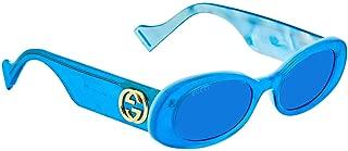 Gucci Women's Sunglasses Round GG0517S Blue