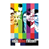 Buyartforless POSTER The Big Bang Theory Cast Signal 34x22.5 TV Show Art Print Poster, multi-color, size:22x34 inches.