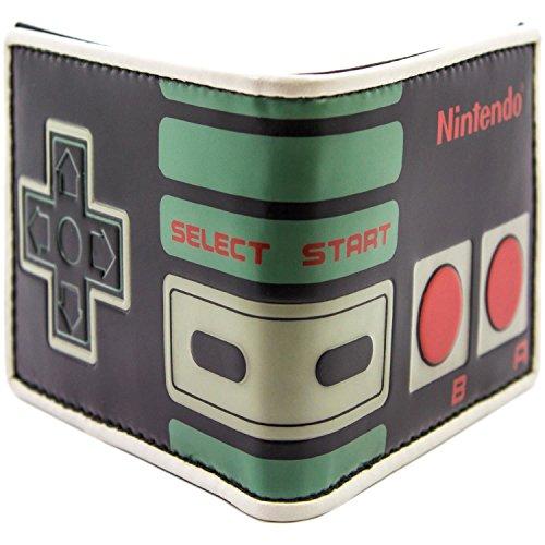 NES Controller Retro Portemonnee Handtas Zwart