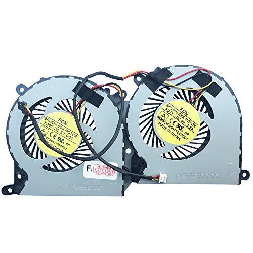 (GPU Version) Lüfter Kühler Fan Cooler kompatibel für Schenker XMG P505 PRO, XMG P506 PRO, XMG P507, XMG P705, XMG P705 Pro