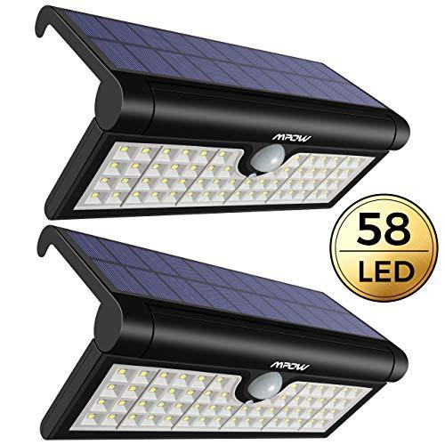 Mpow Luce Solare 58 LED PIR Sensore di Movimento, 3 modalità di...
