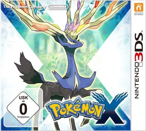 nintendo 3ds mit pokemon x