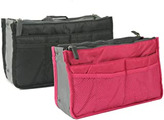 Organiseur de Sac /à Main Femme Fille Mixte Adulte Red Grand Periea