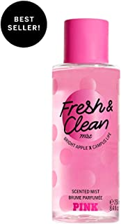 Pink Collection Fresh and Clean Body Mist Fresh with Bright Apple, Sea Spray & Fresh Tangerine Women's Fragrance Perfume