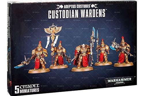 Games Workshop Warhammer 40,000 Adeptus Custodes Custodian Wardens Miniatures