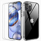 FLOVEME Crystal Clear Compatible with iPhone 12 Case...