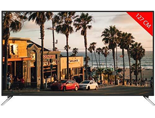 TV LED 4K 127 cm Novidom NOV50UHD3000ST Téléviseur LCD 50 Pouces TV Connectée : Smart TV