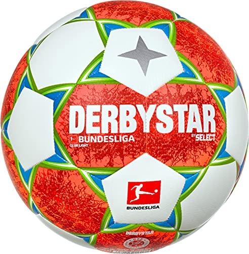 Derbystar Jungen Bundesliga Club Light V21 Fußball, Mehrfarbig, 5