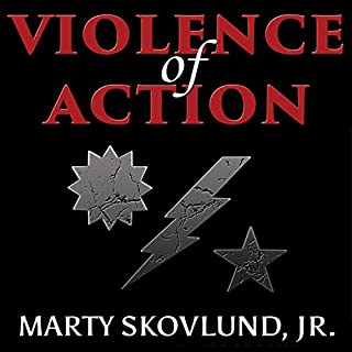 Violence of Action audiobook cover art