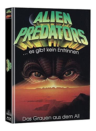 Alien Predators - Mediabook - Limitiert auf 55 Stück - Cover B (+ Bonus-DVD mit weiterem Horrorfilm) [Blu-ray]
