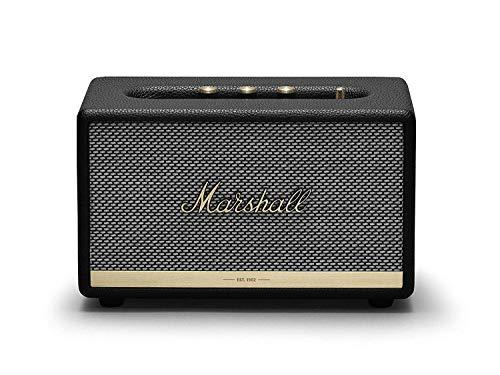 Marshall Acton II Wireless Bluetooth Speaker - Black (Renewed)