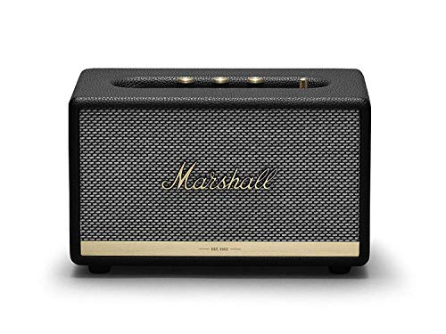Marshall Acton II Wireless Bluetooth Speaker - Black (Renewed)