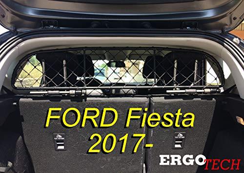 ERGOTECH Trennnetz Trenngitter Hundenetz Hundegitter für Ford Fiesta ab BJ 2017
