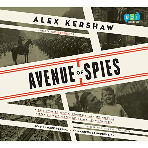 Avenue of Spies audiobook cover art