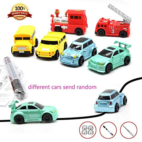 Find Discount Kouye Children Mini Creative Drawn Line Follow Electric Inductive Toy Car Push & Pull ...